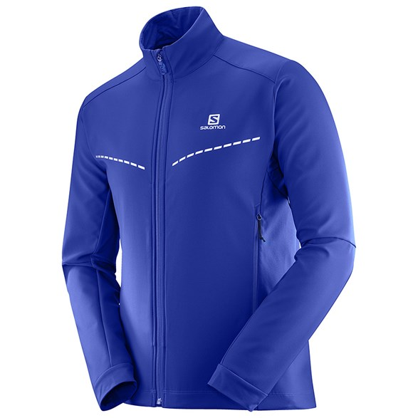 Salomon Agile Softshell Jacket (Blå)